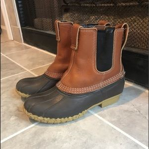 L.L. Bean slip on outdoor boots